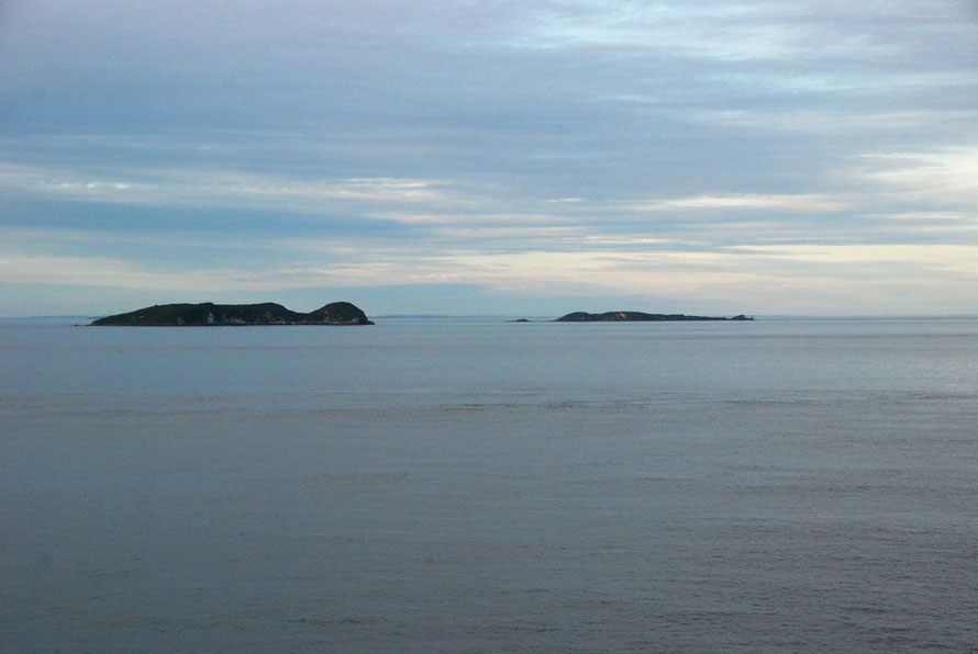 From Ackers Point on Stewart Island to the Muttonbird Islands