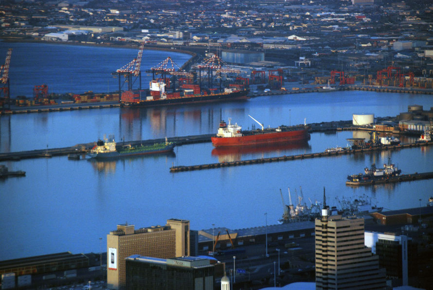 Cape Town is the 106th container terminal in the world by container movements