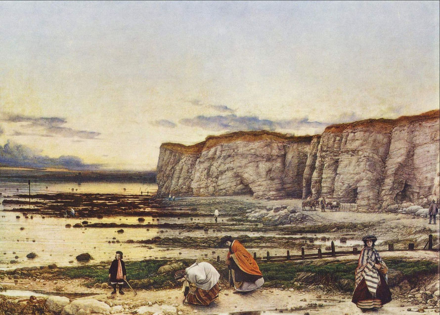 Pegwell Bay, Kent – a Recollection of October 5th 1858, by William Dyce (via WikiCommons from the Yorck Project: 10.000 Meisterwerke der Malerei).
