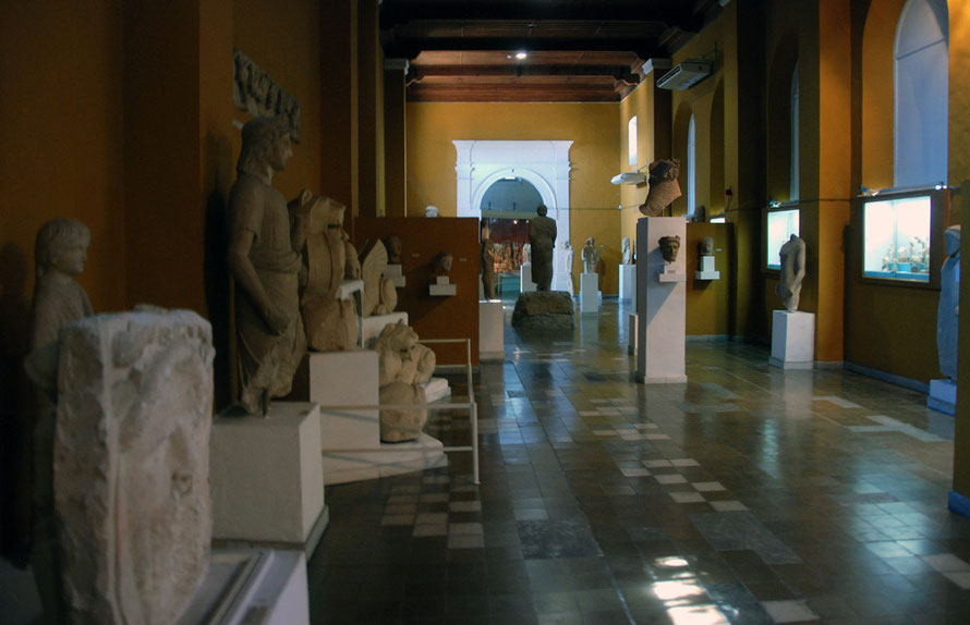 Sculpture Hall, Museum of Cyprus, Nicosia 2012.