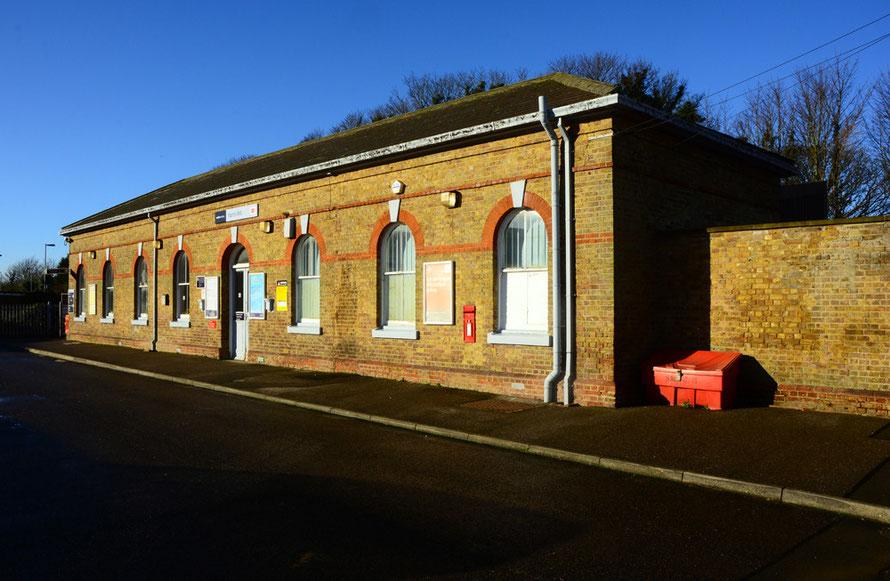 Martin Mill Station.
