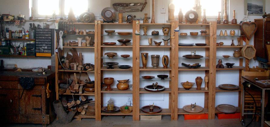 Woodturner's shop, Chrysaliniotissa quarter, Nicosia