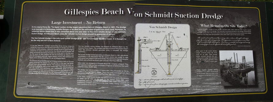 Stones and beach timber defeated the Von Schmidt Suction Dredge - now how did they miss that?