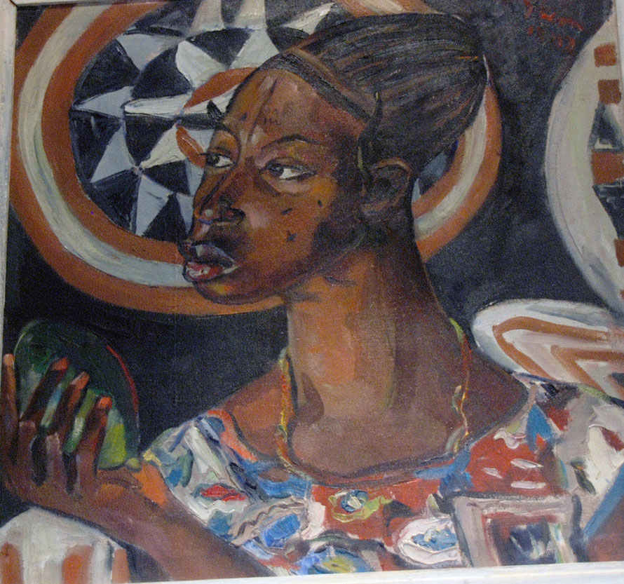 Congo Woman (1942) Irma Stern, Irma Stern Museum
