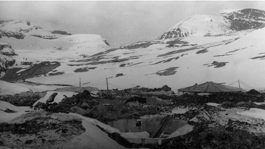 High up in the mountains, in the Norddalen, at 800 meters altitude, the top prison camp Kitzbühel during WW2 (http://www.nrk.no/troms/_-krigsminnene-ma-fredes-1.12018866 Anders Hesjedal has oringinal?).