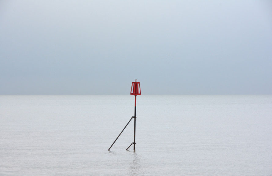The blip: Beacon, Deal Strand, 31st Janaury, 2015.