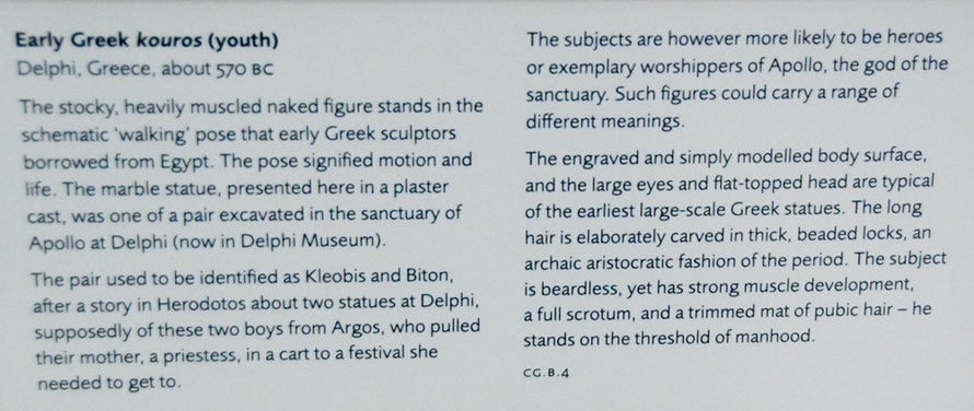 Caption from Ashmolean Museum, Oxford