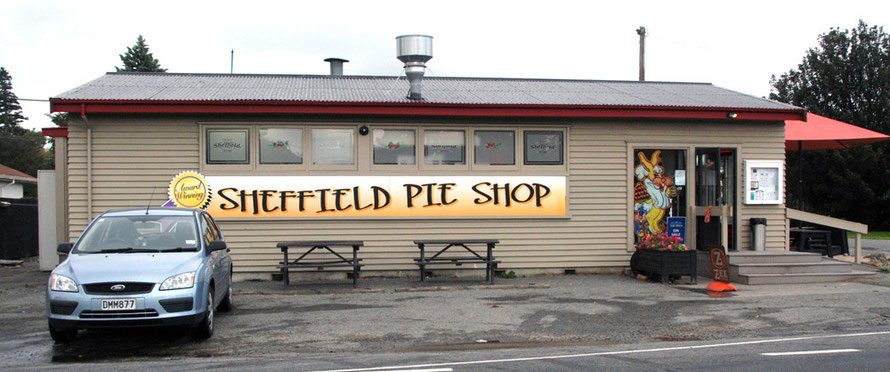 The Sheffield Pie Shop in tiny Sheffield (formerly Malvern) and closely linked to nearby Waddington (combined pop. 444)