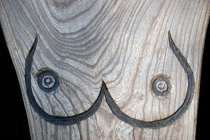 Flat Torso 2009 (River Oak) Detail