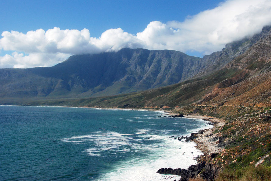 Part of the Whale Coast between Betty's Bay and Gordon's Bay