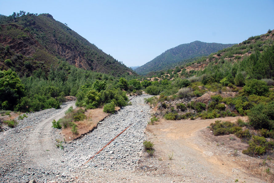 The Xeros river in June 2012