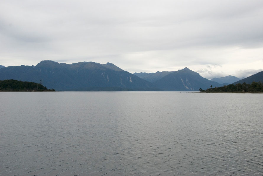 Te Anau is the second largest lake in New Zealand and the biggest on the South Island.