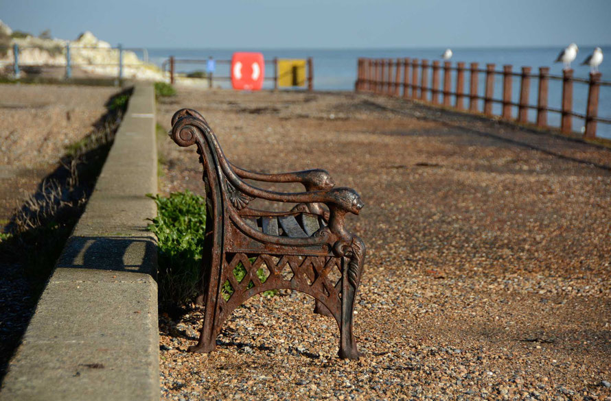 Bench. (St Margaret's Bay, 26th November. 2015).