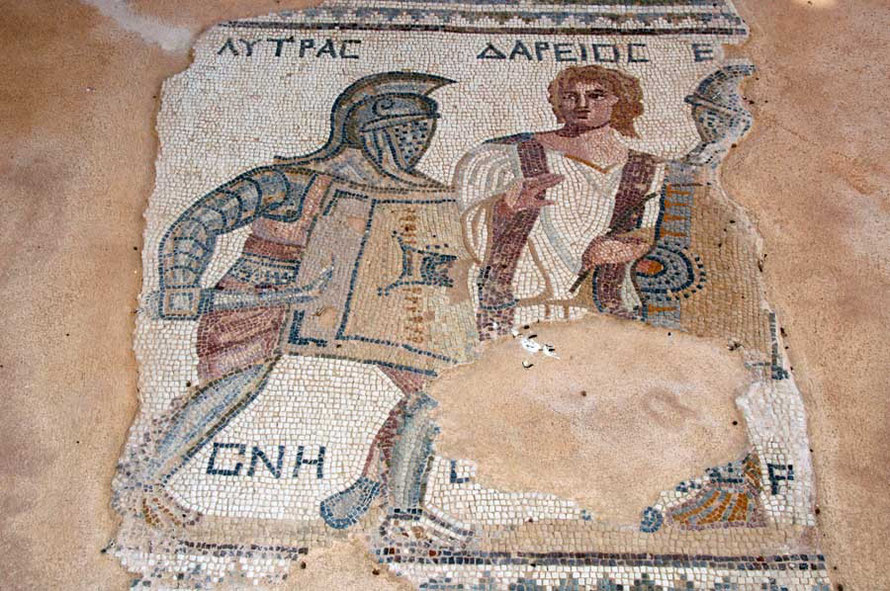 Deepening ties with Moscow? Roman Mosaic from the Gladiator's House, Kourion