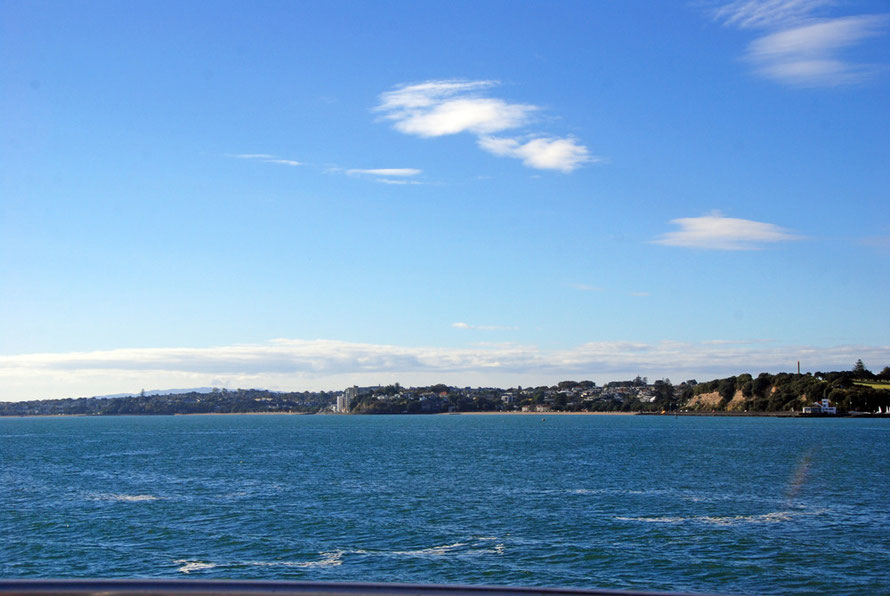 Bastion Point, Mission Bay and St Heliers Bay on Auckland's prestigious South Shore.