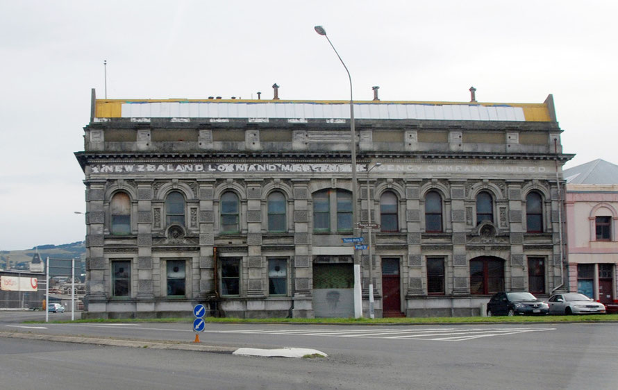 The New Zealand Loan and Mercantile Agency building