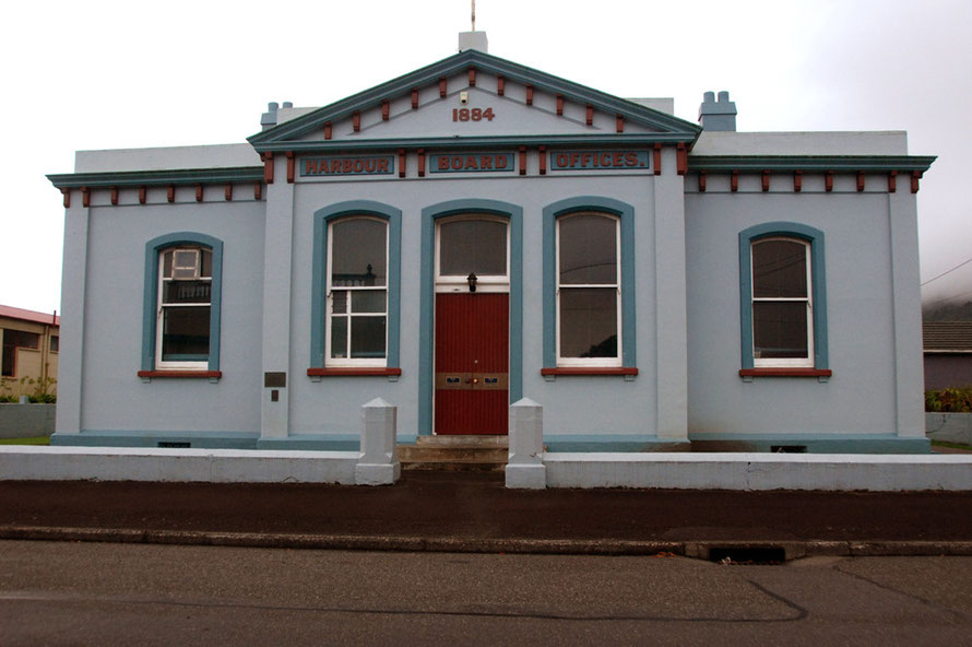 Harbour Board Office (1884), Greymouth