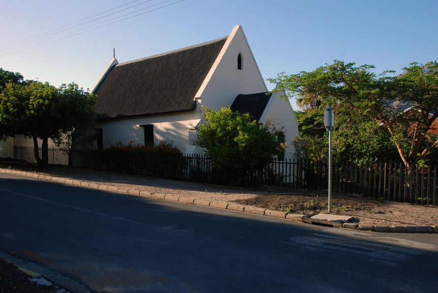 Thatched church in West Montagu