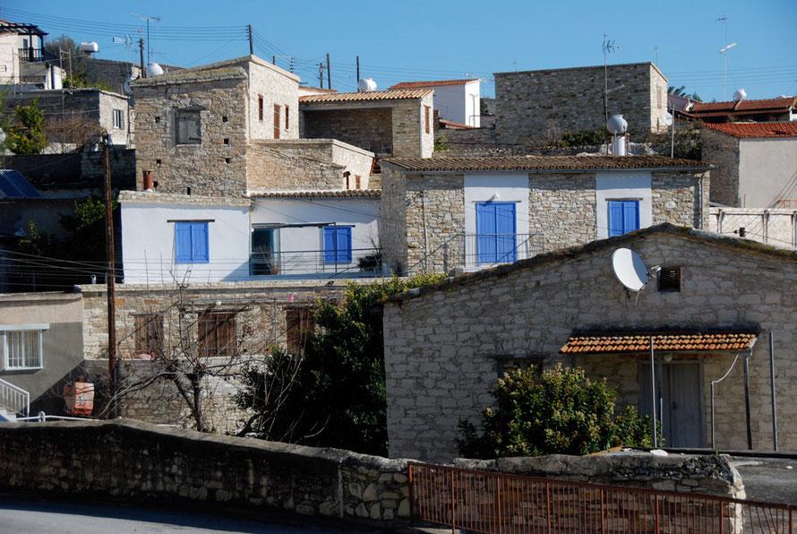 Restored houses in Skarinou