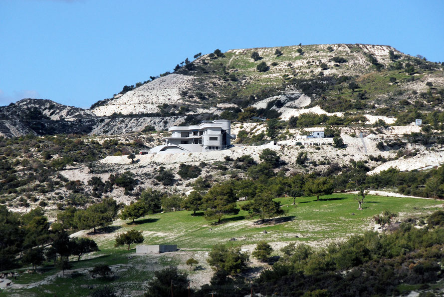 Villa development above Khirokitia village.