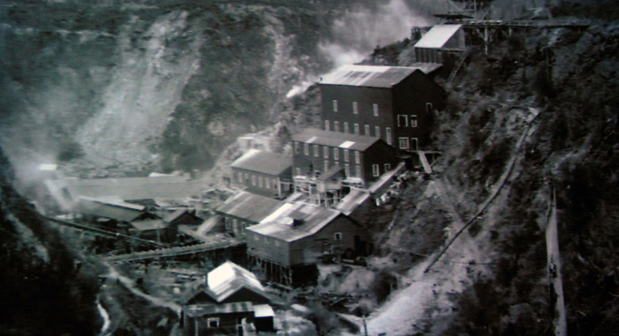 Gold mine with stamping batteries and high capital investment (Hokitika Museum AV presentation)