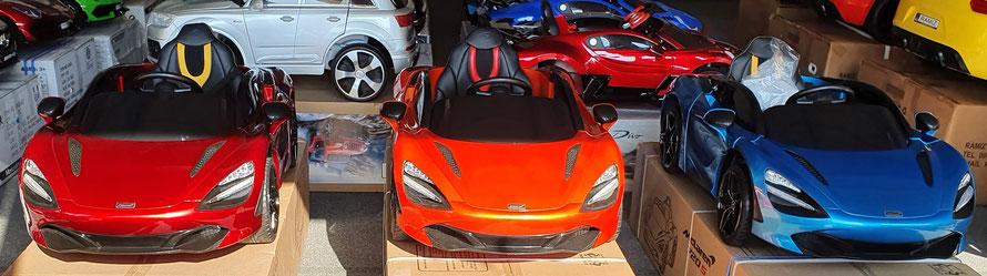 McLaren 720S/Kinderauto/Kinder Elektroauto/lizensiert/lackiert/