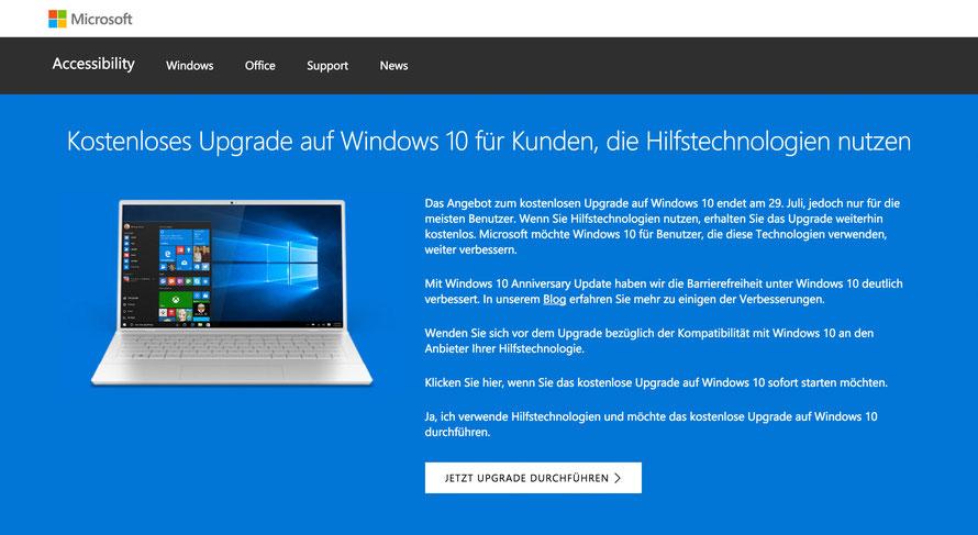 (Screenshot: Microsoft.com)
