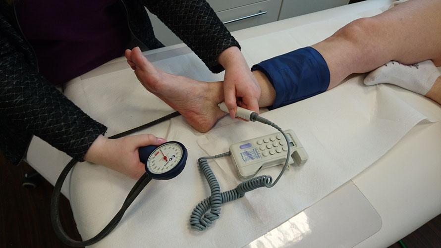 Ambulantes Gefäß-und Laserzentrum - Durchblutungsstörungen