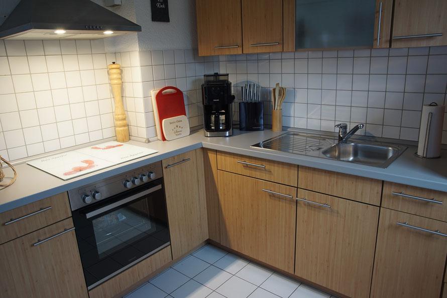 kein Gast hat bisher irgend etwas in dieser Küche vermisst