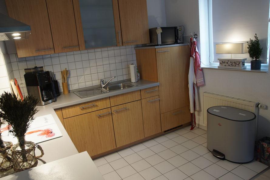 die Küche wurde von uns im Jahr 2019 erneuert