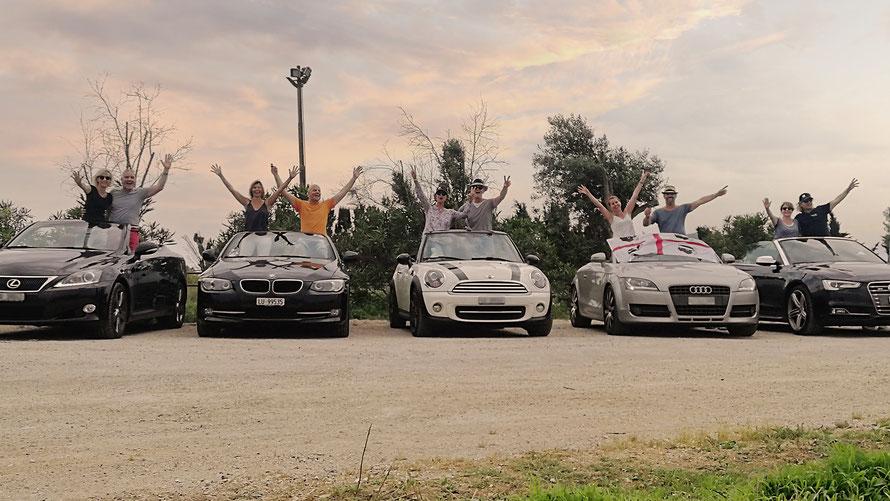Route Napoleon mit dem Auto auf Pässe.Info