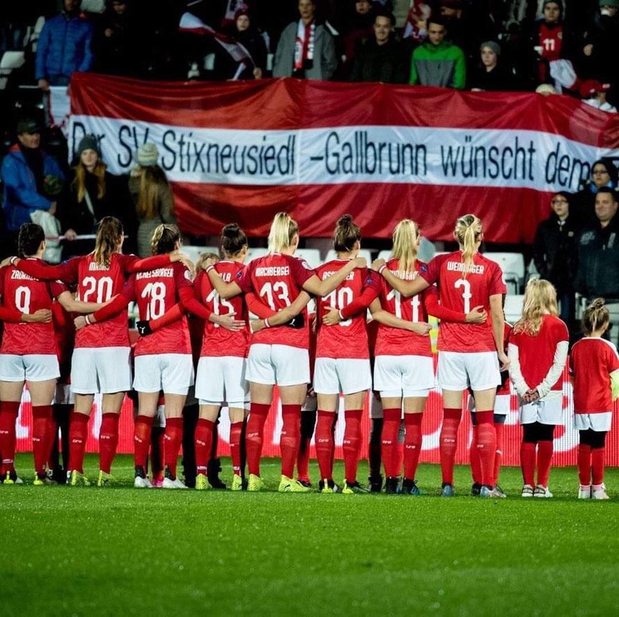 Frauen-EM am 12.11.2019 ÖSTERREICH - KASACHSTAN 9:0
