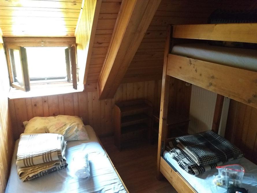 Zimmer Berghütte Slowenien