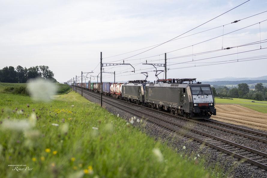 MRCE BR 189 (SBB Cargo International) bei Mühlau