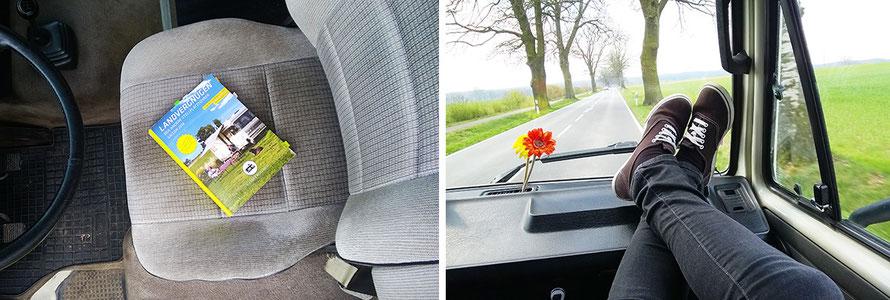 Rent a Bulli Landvergnügen Stellplatzführer Roadtrip VW-Bus T3 Alltagsabenteuer Alltagsabenteurer Fernweh Urlaub