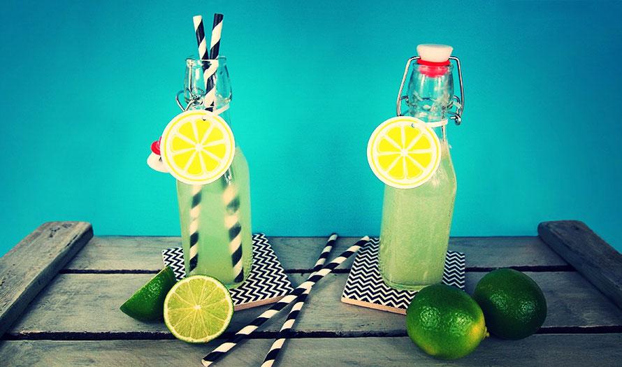 Limonade selber machen DIY handmade Freizeit Limetten Sommer Blog Blogging Alltagsabenteurer Alltagsabenteurer
