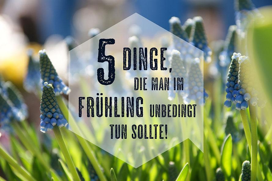 Blog 5 Dinge Frühling Blumen Eis essen Übergangsjacke Alltagsabenteuer Alltagsabenteurer Liste Tipp Freizeittipp