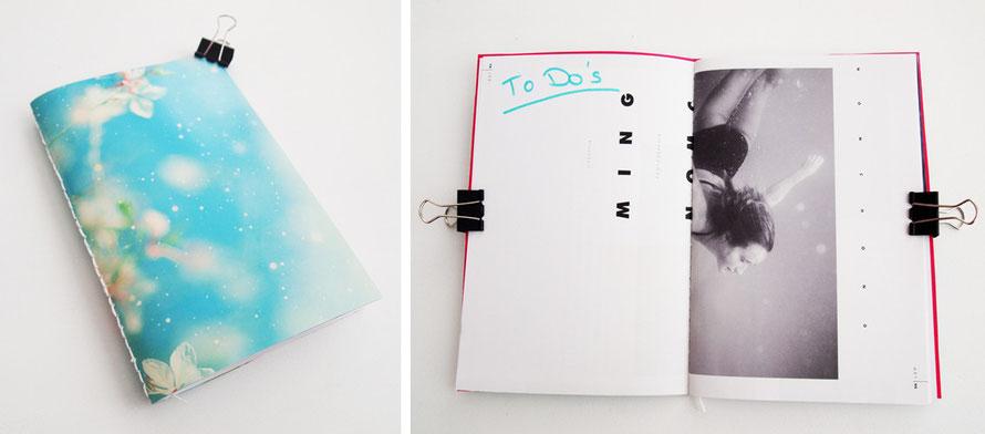 Alltagsabenteurer Alltagsabenteuer Handmade Kultur DIY Upcycling Basteln Papier Altpapier Notizhefte selbermachen