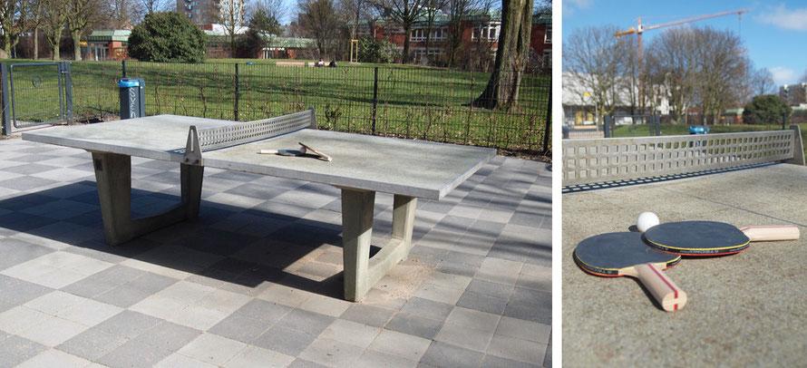 Tischtennis Tischtennisplatte Pingping Schläger Freizeit Sport Spaß Hamburg Alltagsabenteuer Alltagsabenteurer