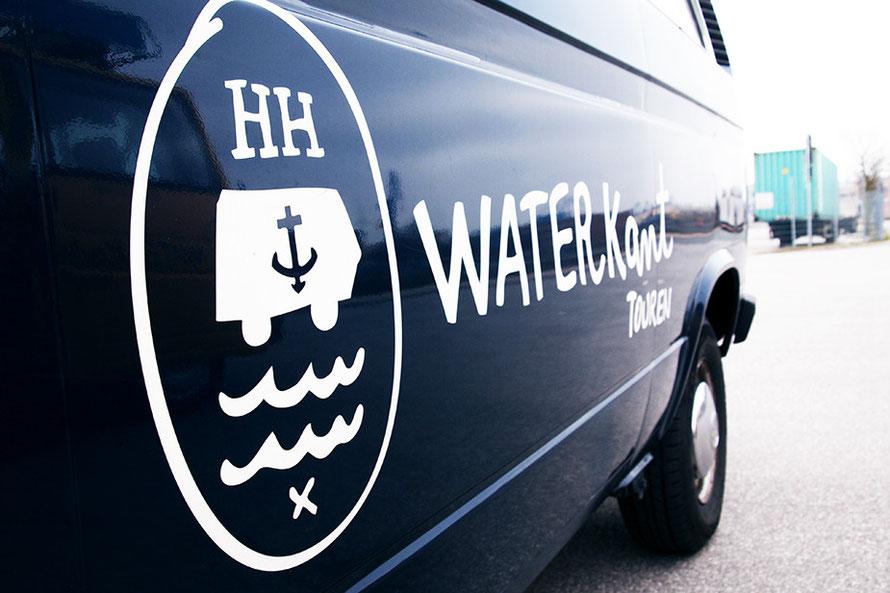Waterkant Touren Hamburg Bulli T3 Jolante Alltagsabenteurer Alltagsabenteuer Stadtrundfahrt Roadtrip Stadtführung Elbe Freizeit Hamburg Freizeitaktivitäten Hamburg