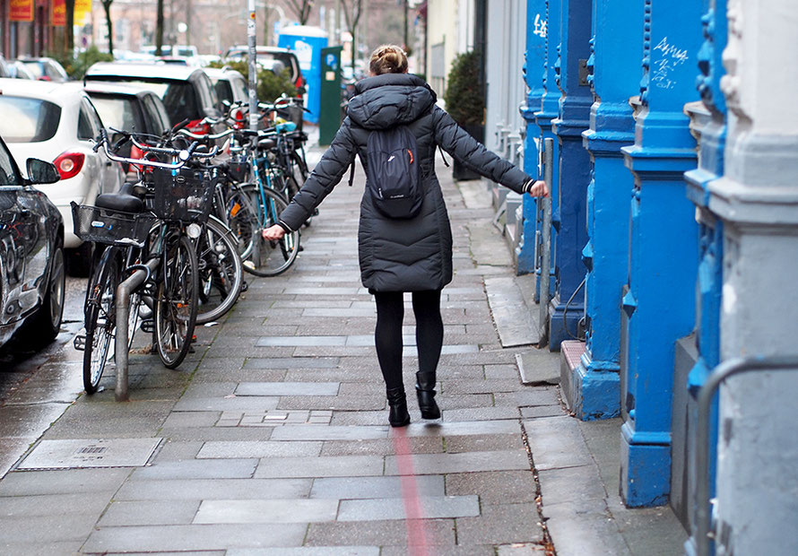 Hamburg Neustadt Hummel-Bummel rote Linie Stadtrundgang Freizeit Outdoor Alltagsabenteuer Alltagsabenteurer
