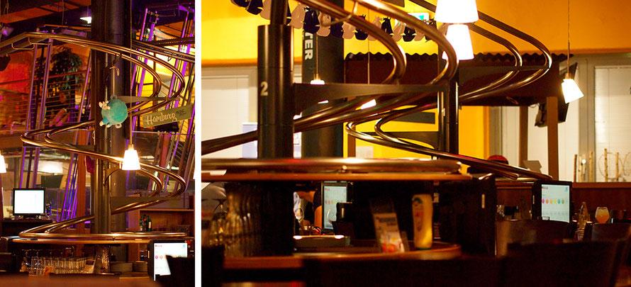 Rollercoaster Restaurant Schwerelos Hamburg Harburg Tipp Freizeit Alltagsabenteuer Alltagsabenteurer