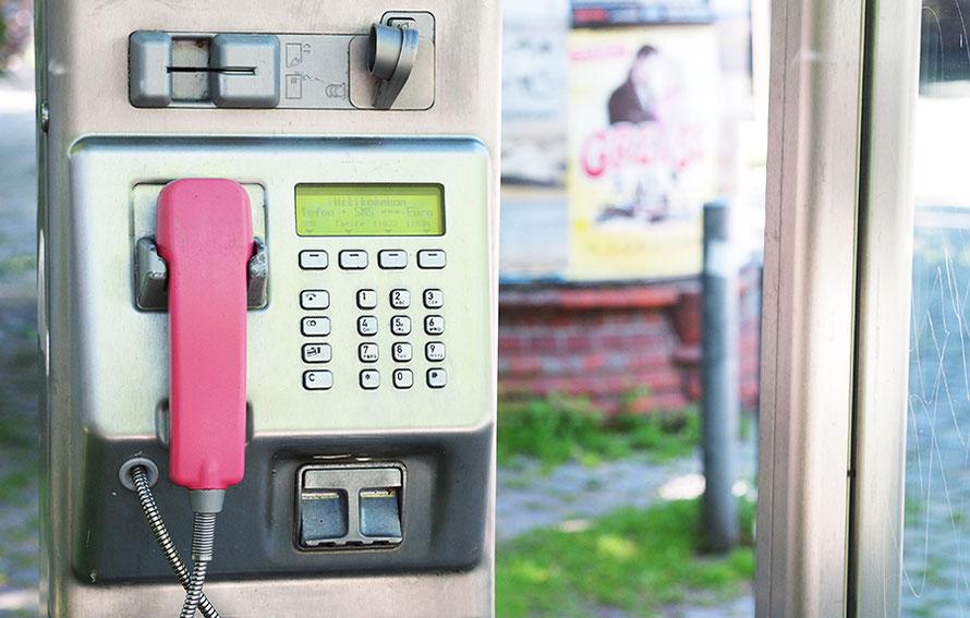 Telefonzelle Münztelefon Hamburg Großneumarkt Freizeit Nostalgie Alltagsabenteuer Alltagsabenteurer