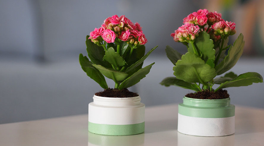 Urban Jungle Bloggers Upcycling Blumentopf Blumentöpfe basteln DIY Freizeit Alltagsabenteuer Alltagsabenteurer