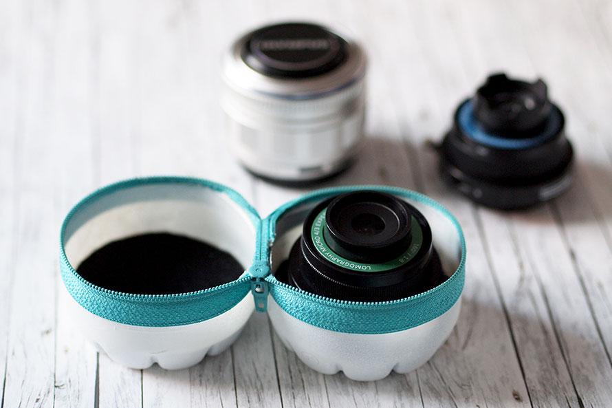 Olympus pen lomography lens kit upcycling diy objektiv-case basteln Freizeit Alltagsabenteuer Alltagsabenteurer