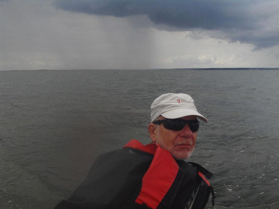 Die beschriebene Wetterfront