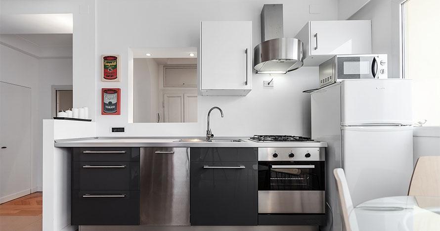 Short term rentals milan apartments affitti brevi for Appartamenti arredati milano