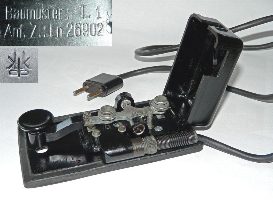 Baumuster T.1 Anf. Z.Ln 26902. K&K  (Konski & Krüger)