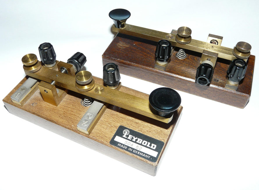 Morse Key. Made by Leybold.