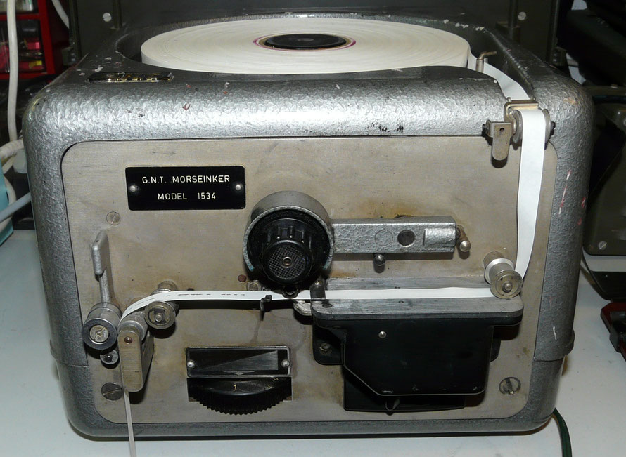 Denmark - G.N.T. Morse inker Model 1534. Bandopnemer Telegrafie Seinen.  Wireless telegraph inkers